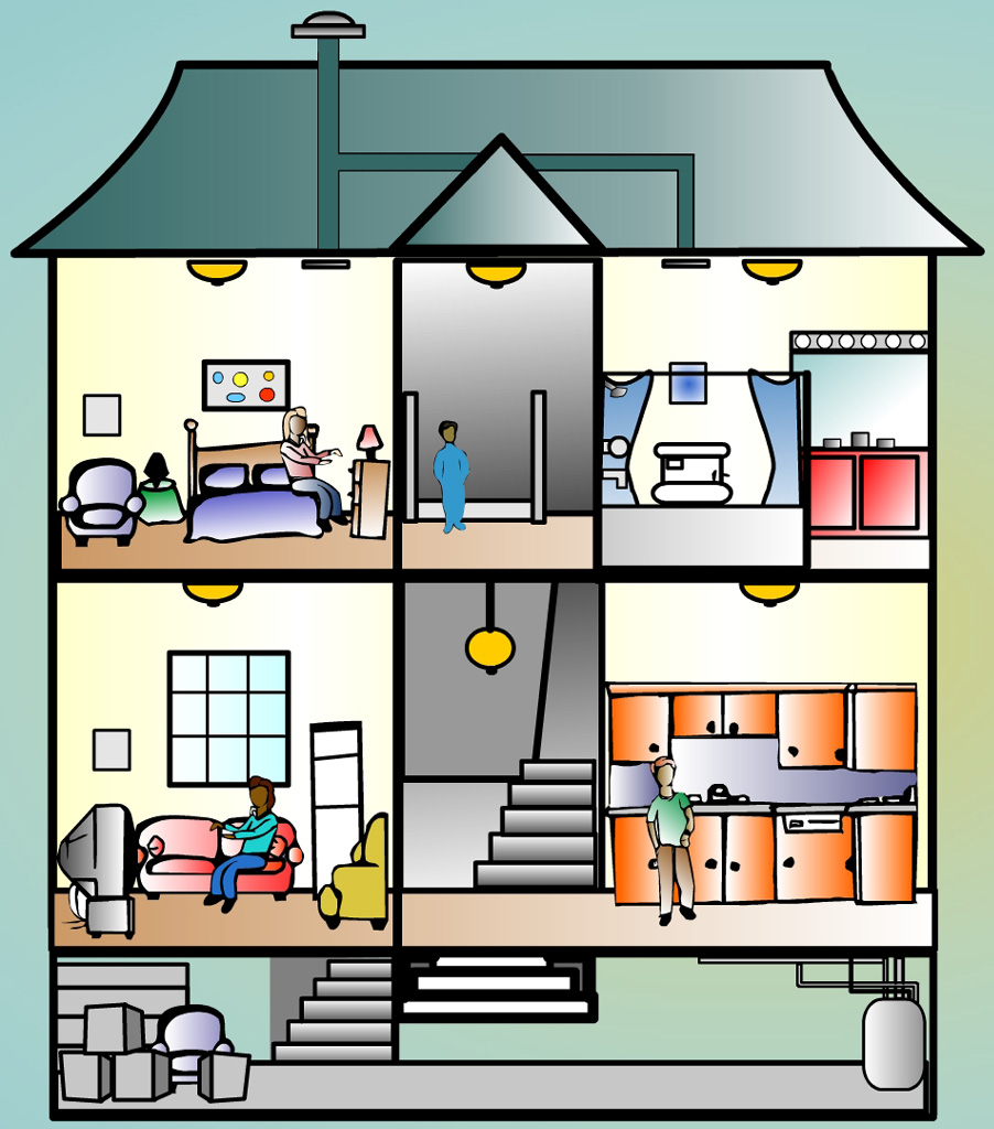 inside house clipart clipart kid