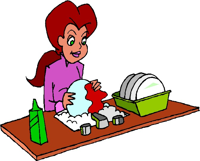 Clip Art   Washing Up