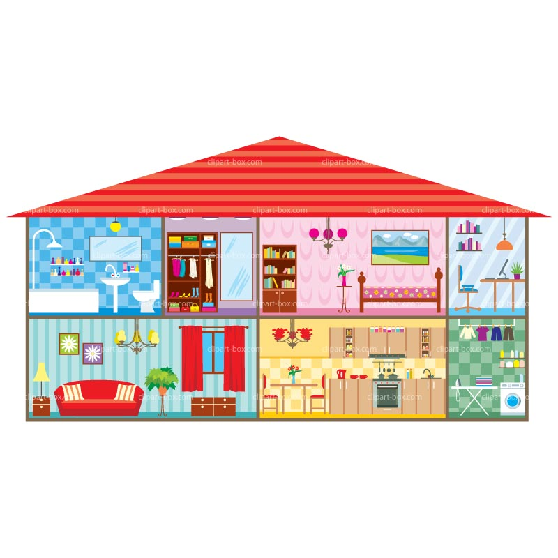 clipart inside house - photo #22