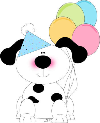 Dog Birthday Clipart Clipart Suggest