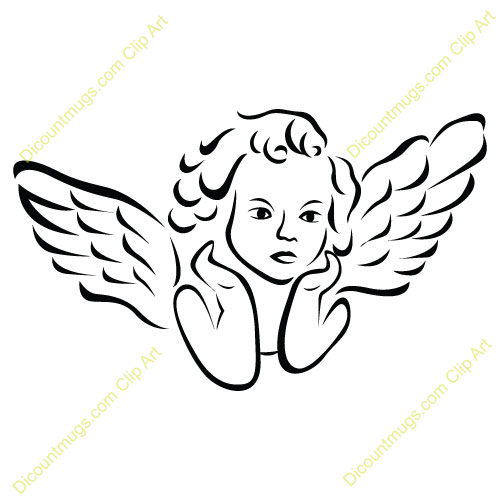 Clip Art Clip Art Angels flying angel clipart kid wings girl