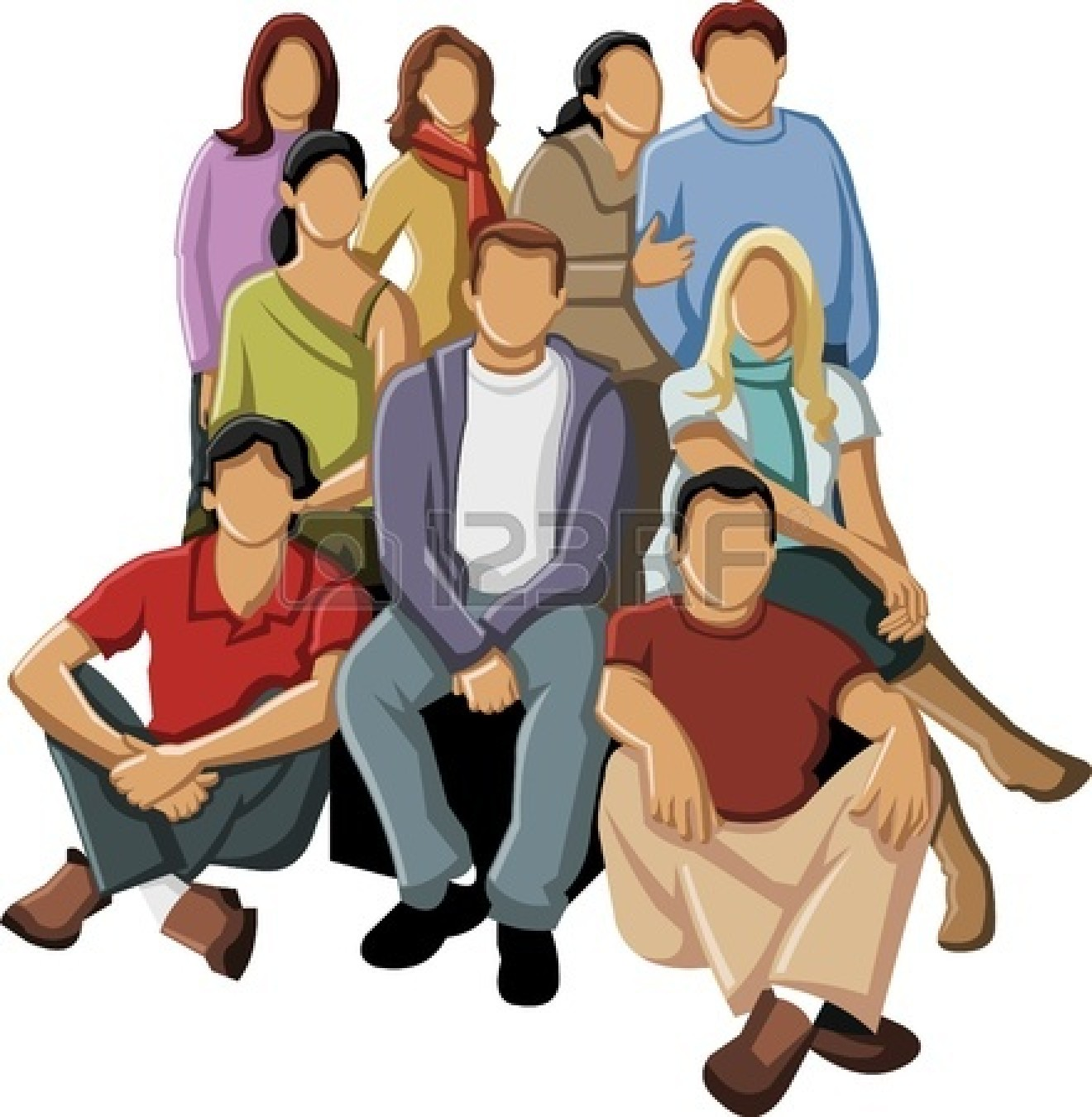 Group Of Business People Clipart 16876016 Group Of Young People Jpg