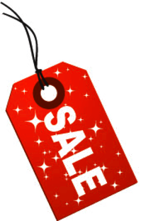 Holiday Christmas Christmas Signs Sale Tag Holiday Sale Tag Stars Red