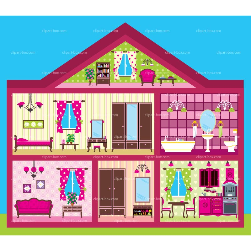 Inside House Clipart Clipart Doll House Cutout