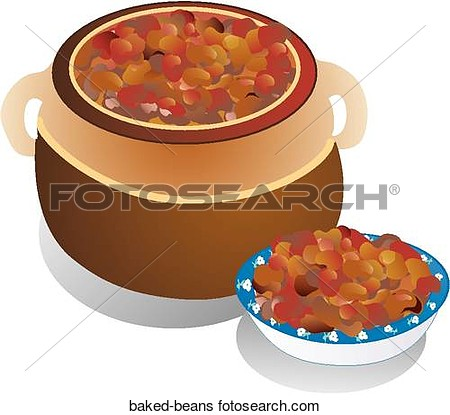 Of Baked Beans Baked Beans   Search Clip Art Drawings Fine Art