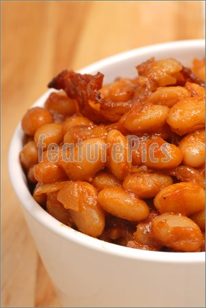 Picture Of Pork And Beans  Royalty Free Photo At Featurepics Com