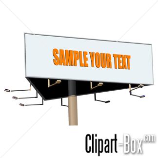 Billboard Sign Clip Art Free