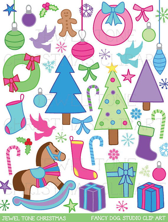 Sale   60  Off   Christmas Clip Art   Holiday Clipart Royalty Free