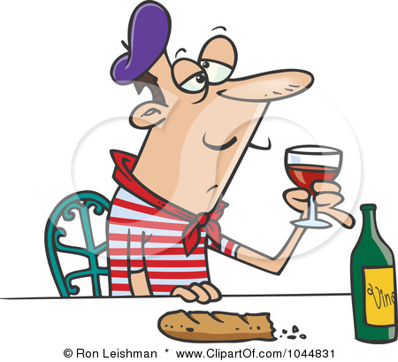 1044831 Royalty Free Rf Clip Art Illustration Of A Cartoon French Man