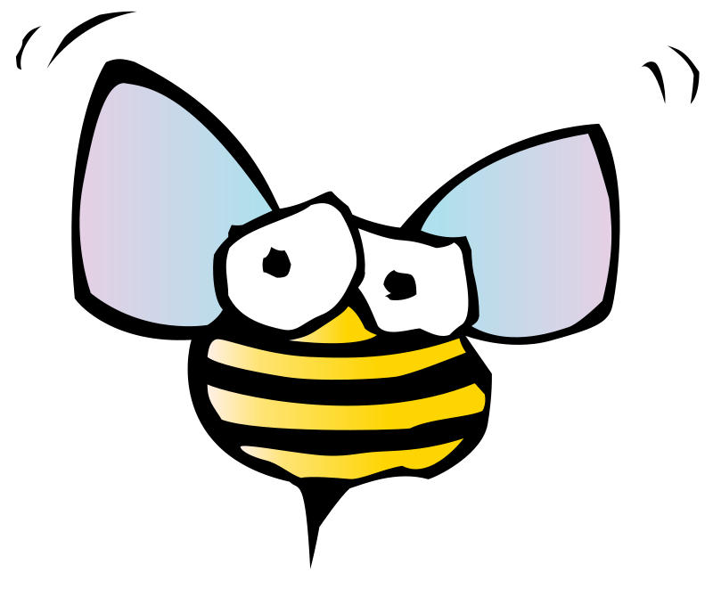 Sports Cartoon Bee Clipart - Clipart Kid