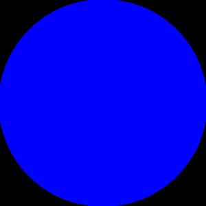 Blue Dot Clip Art At Clker Com   Vector Clip Art Online Royalty Free