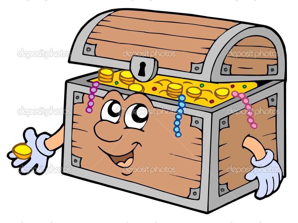 Google images treasure box clipart clipart suggest - Coffre dessin ...