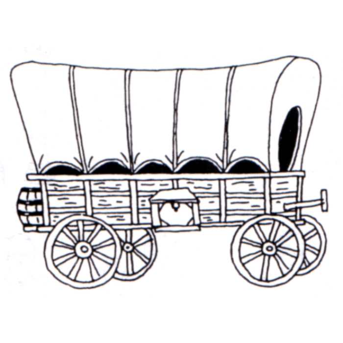 Covered Wagon Clipart - Clipart Suggest