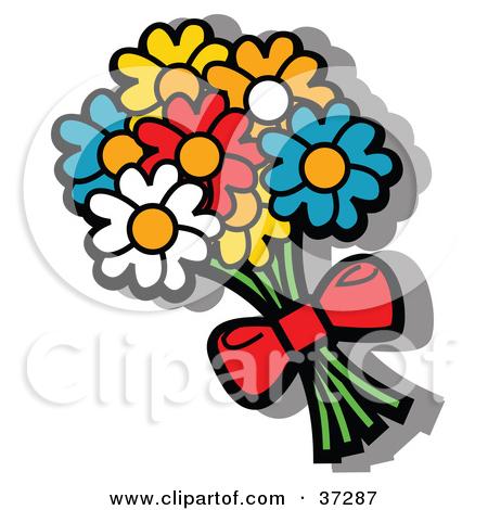 Blue Flower Bouquet Clipart - Clipart Kid