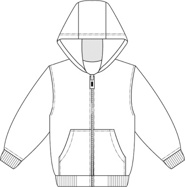 Go Back   Pix For   Hooded Sweatshirt Clipart