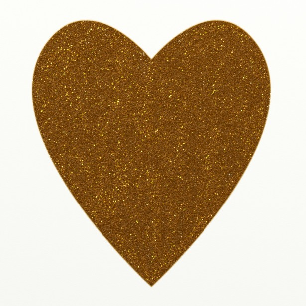 Gold Glitter Heart Clipart Free Stock Photo   Public Domain Pictures