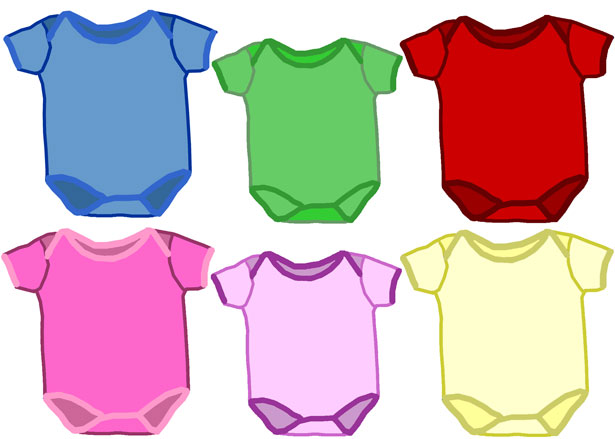Multicolor Baby Onesies Free Stock Photo   Public Domain Pictures