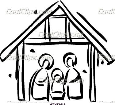 Christian Christmas Nativity Clipart - Clipart Kid