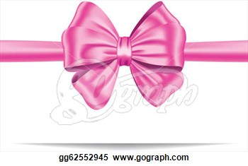Pink Ribbon Bow Clipart Images   Pictures   Becuo