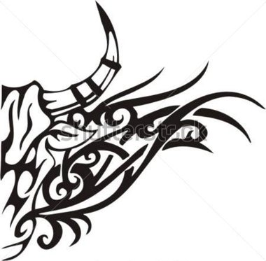 Related Pictures Stock Vector Tribal Bull Vector Clip Art High Quality