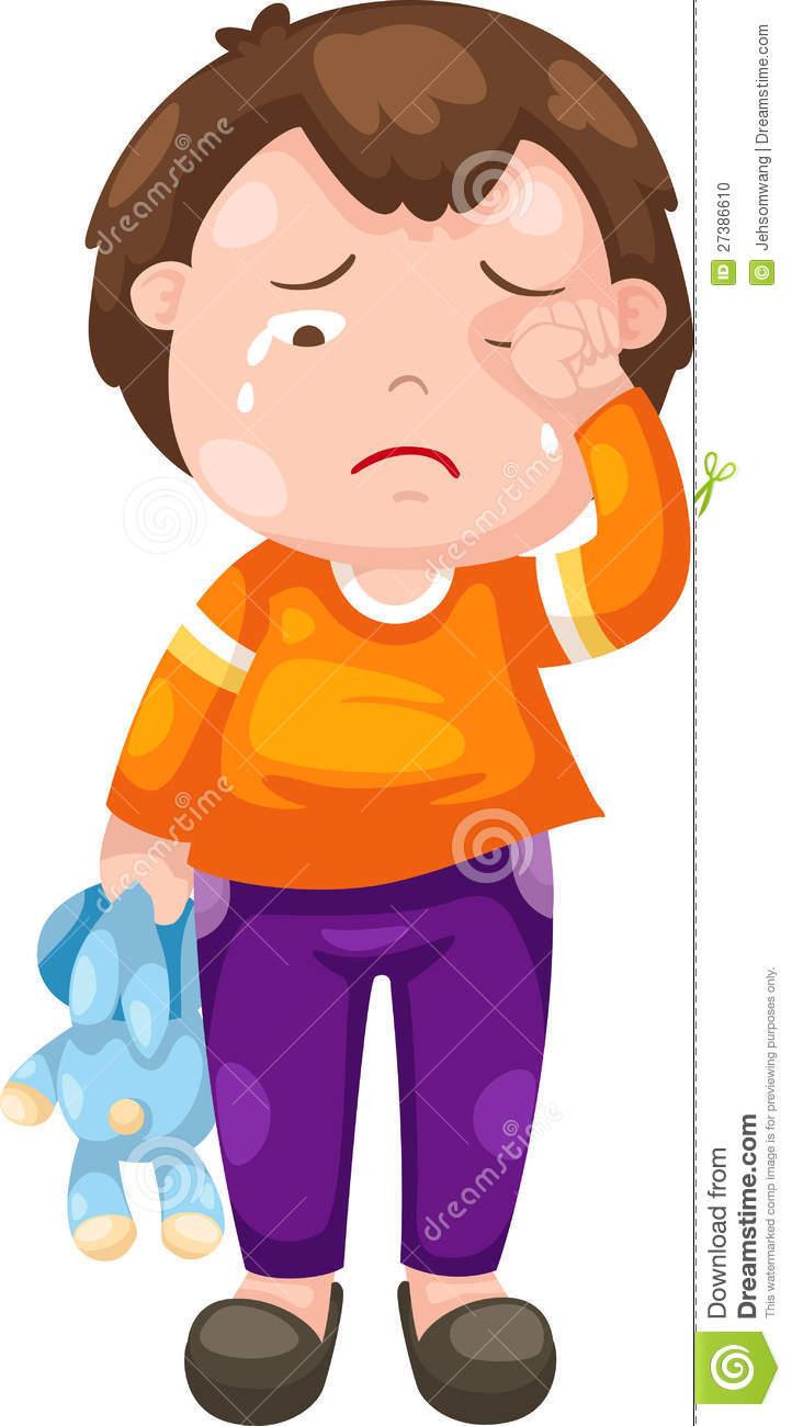 Sad Crying Clipart - Clipart Kid