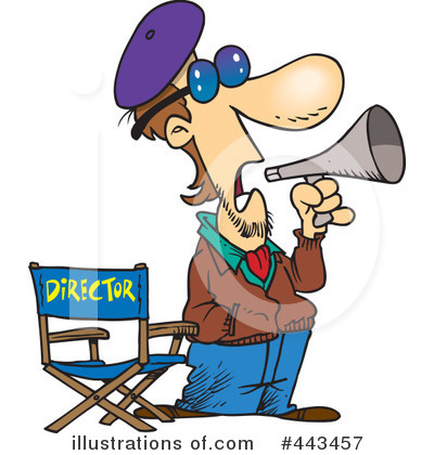 Director Clipart  443457 By Ron Leishman   Royalty Free  Rf  Stock