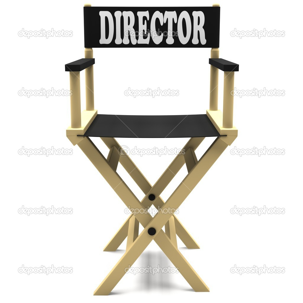 Flim Industry  Directors Chair   Stock Photo   Maximus256  10213011
