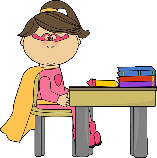 Superhero Student Clipart - Clipart Suggest