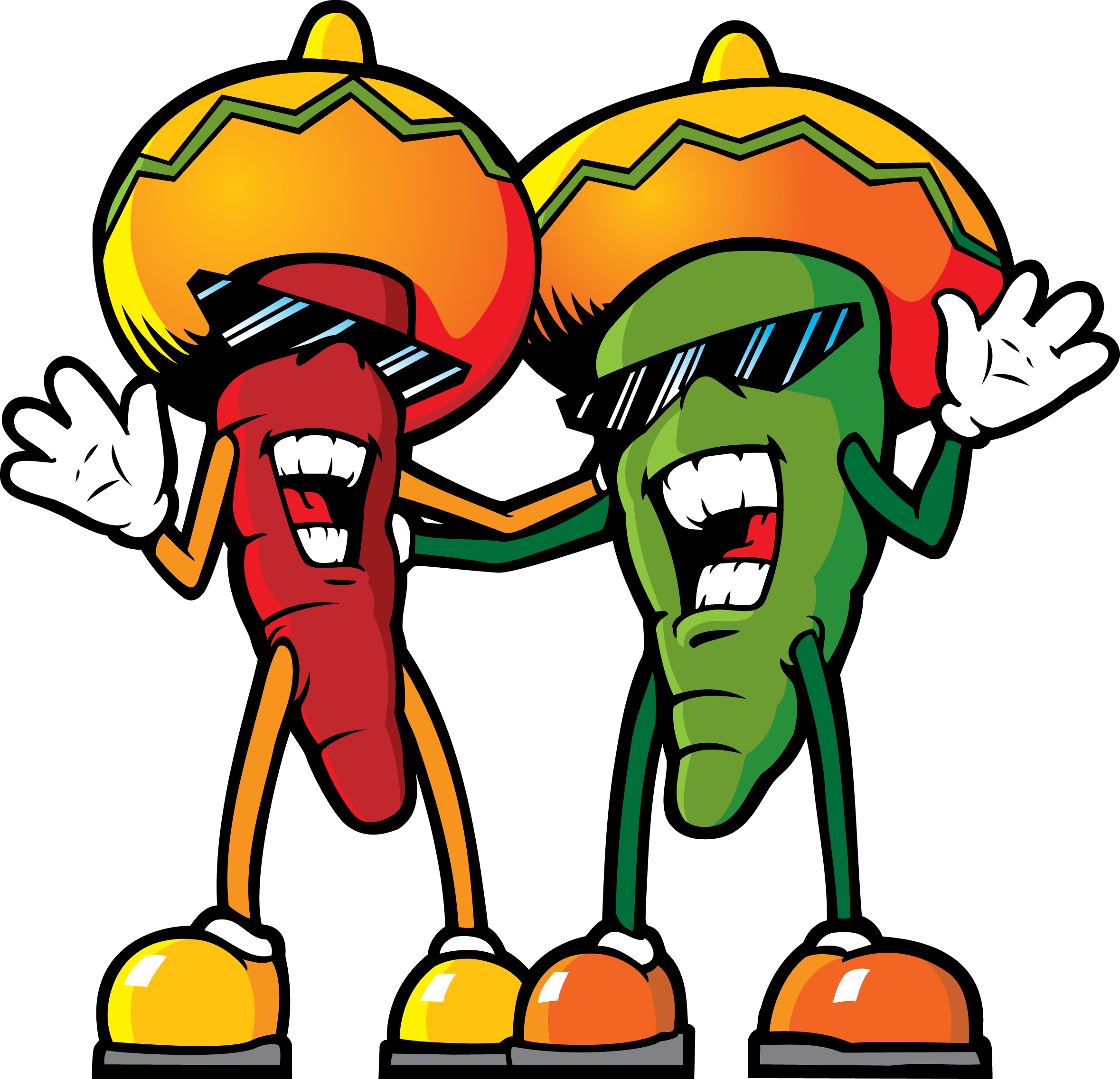 Peppers Mexican Fiesta Clipart Clipart Suggest