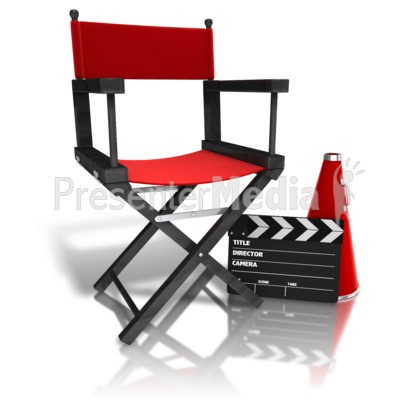 Movie Directors Equipment   Business And Finance   Great Clipart For