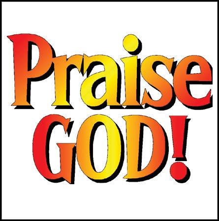 Praise God Clip Art