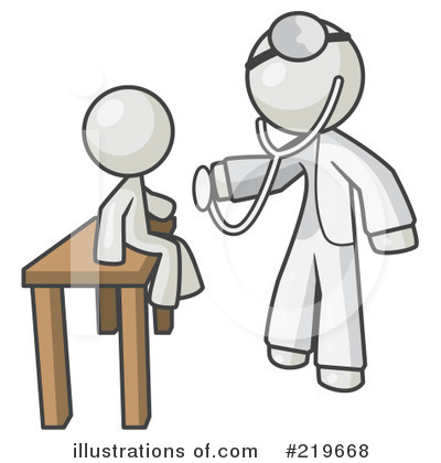 Royalty Free Rf Doctor Clipart Illustration By Leo Blanchette