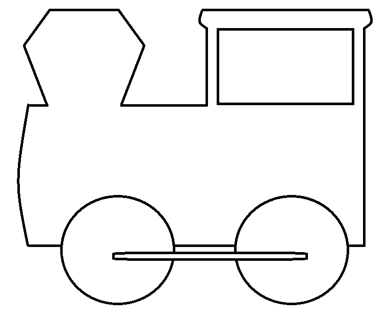 Train Clipart Black And White   Clipart Panda   Free Clipart Images