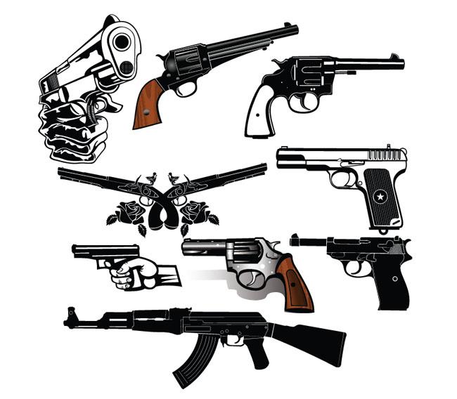 clipart guns pictures - photo #42
