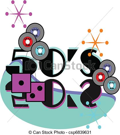 50s Era    Csp6839631   Search Clipart Illustration Drawings And
