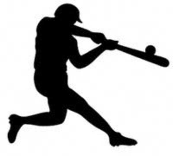 Baseball Silhouette   Free Images At Clker Com   Vector Clip Art