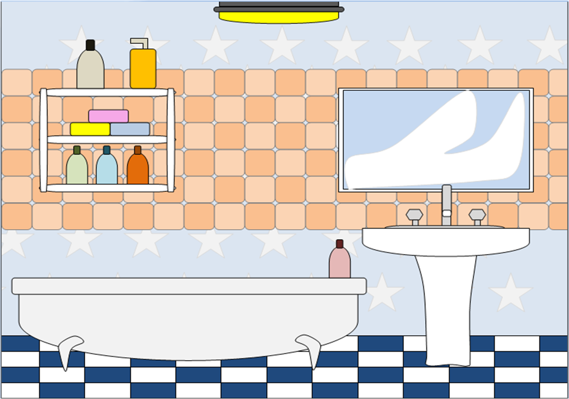 Bathroom 2   Free Images At Clker Com   Vector Clip Art Online