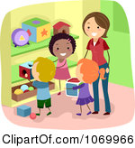 Children Cleaning Up Toysroyalty Free  Rf  Clean Up Clipart