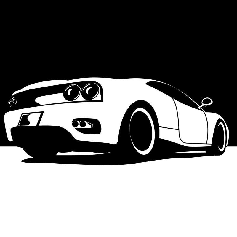 Clipart Ferrari 360 Modena   Royalty Free Vector Design