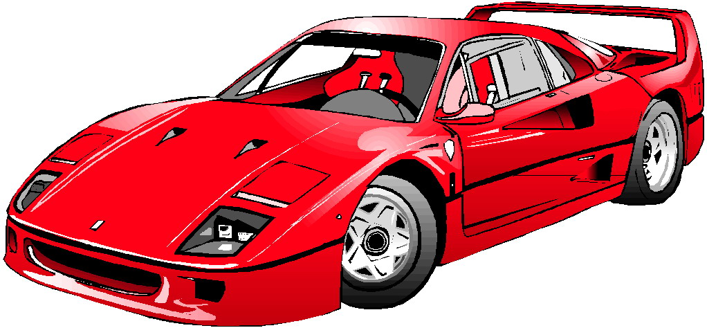 Ferrari Clipart - Clipart Kid
