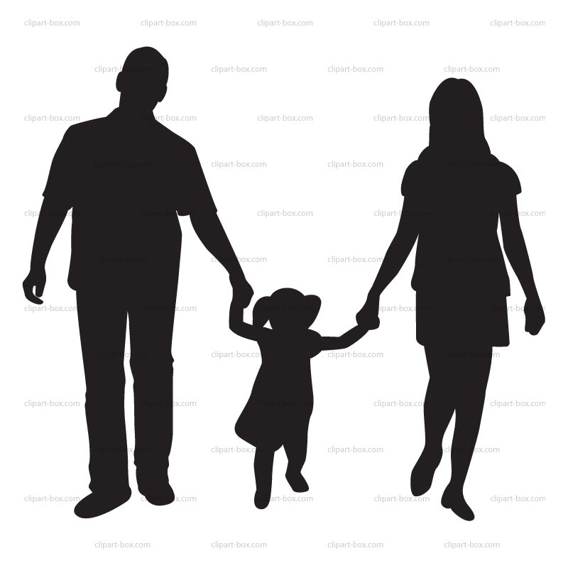 baby with parents clipart clipart kid