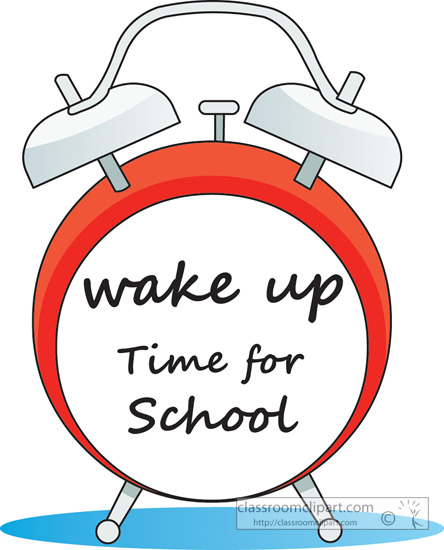 Download Wake Up Time For School Filetype Size Png With