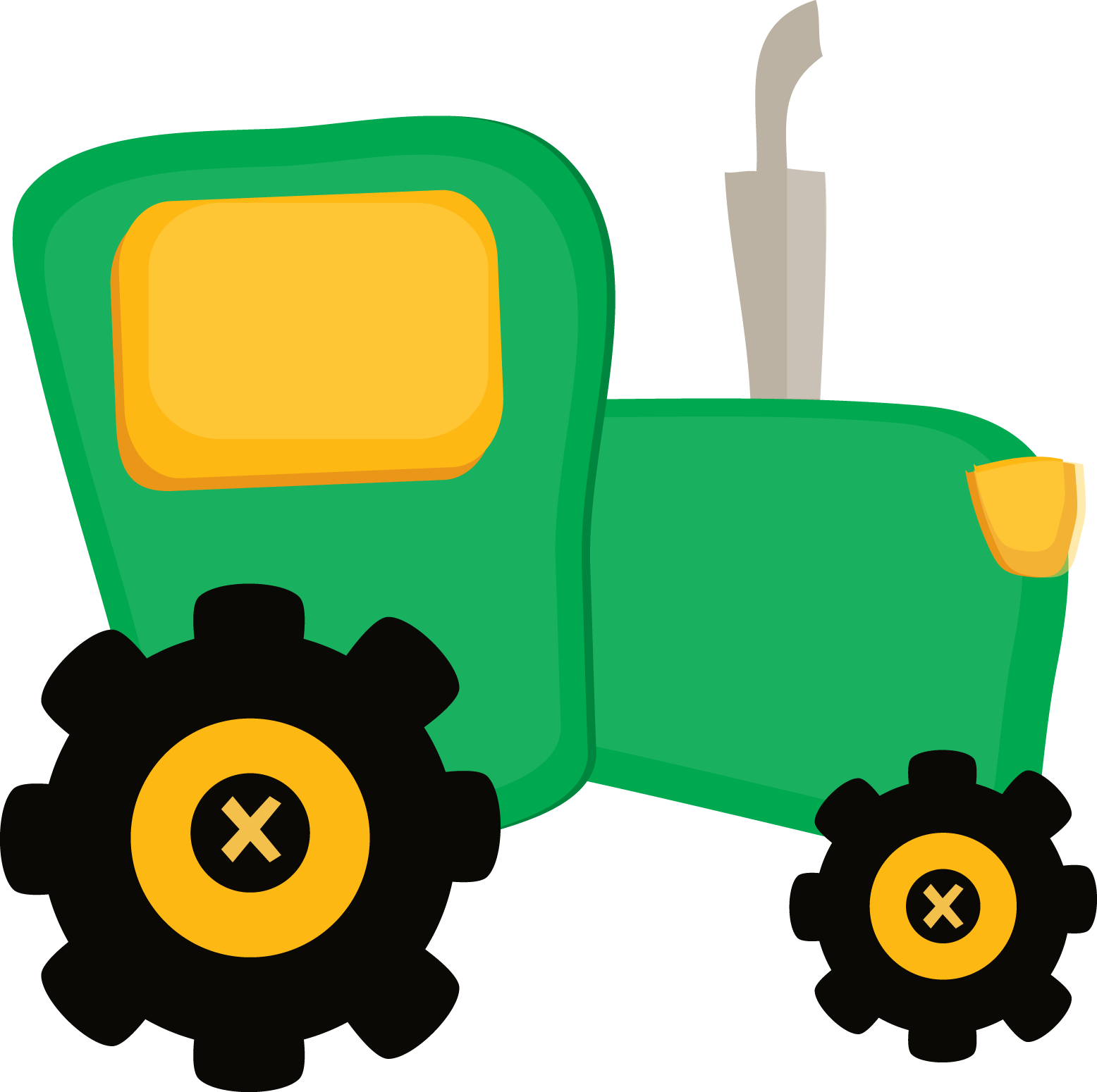 Fazendinha Cute   Clipart Tractor Png   Minus   Cliparts Co