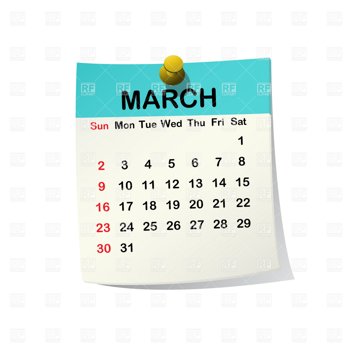 March 2014 Month Calendar 20535 Calendars Layouts Download Royalty