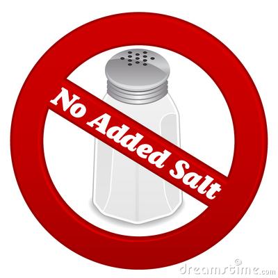 No Salt Fast Food