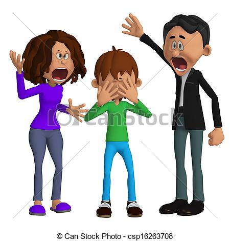 Of Parents Angry With A Child Csp16263708   Search Clipart