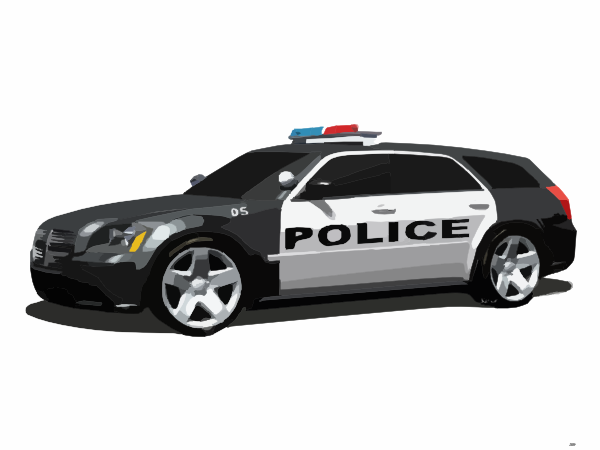 Police Car Clip Art At Clker Com   Vector Clip Art Online Royalty