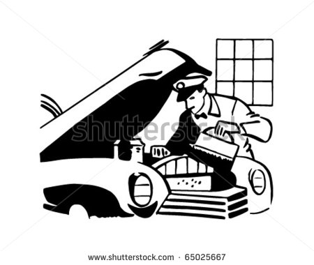 Retro Clipart Car Stock Photos Illustrations And Vector Art