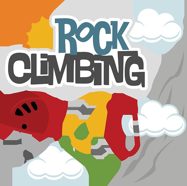 Rock Climbing Clipart - Clipart Kid