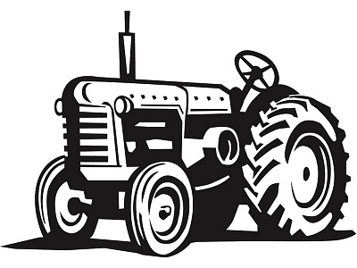 Tractor Vector Art   Clipart Best